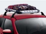 Грузы на верхнем багажнике автомобиля