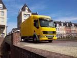 Перевозка грузов по городу: описание