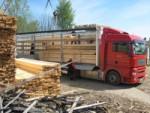Транспортировка леса и пиломатериалов