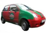 Автомобили для доставки пиццы.