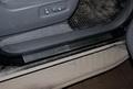 Накладки на пороги автомобиля